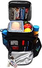 Roomy Insulated Lunch Bag for Men and Women with Space for More Meals and Snacks. Easy to Clean. Keeps Food Fresh for 8h. Functional Lunch Box for Adults with More Pockets for daily essentials.