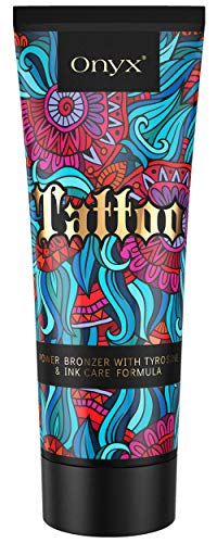 Onyx Tattoo Tanning Lotion Fade Protection Ink Care Formula