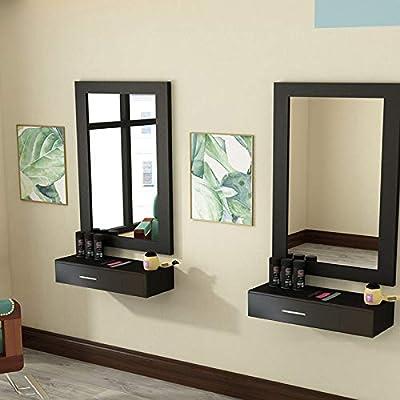 MTFY Black Salon Cabinet