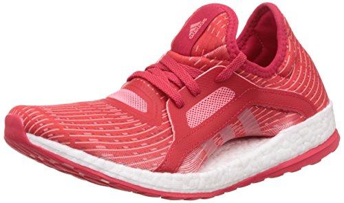 adidas Pureboost X, Zapatillas de Running para Mujer, Rojo (Rojray/Rosvap/Ftwbla), 39 1/3 EU
