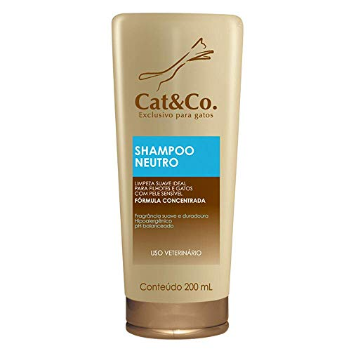 Shampoo Cat&Co Neutro Mundo Animal – 200mL