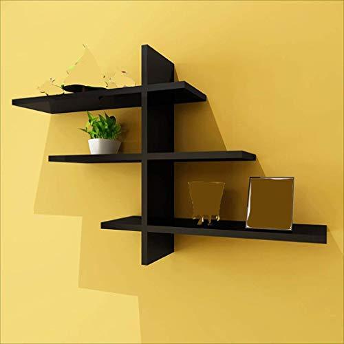 DGDF Moderno minimalista colgante de pared moda creativo tablilla sala de estar TV fondo decoración pared estante estantería dormitorio celosía