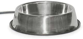 K&H Manufacturing Thermal-Bowl Stainless Steel 102 Oz. 25 Watts