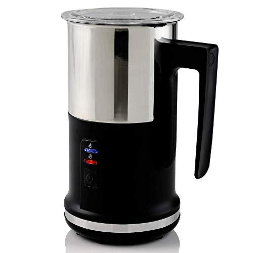 YFGQBCP La Leche vaporizador eléctrico 240ML del Acero Inoxidable con Caliente o fría funcionalidad automática de la Leche vaporizador y Calentador de café, Capuchino y Macchiato