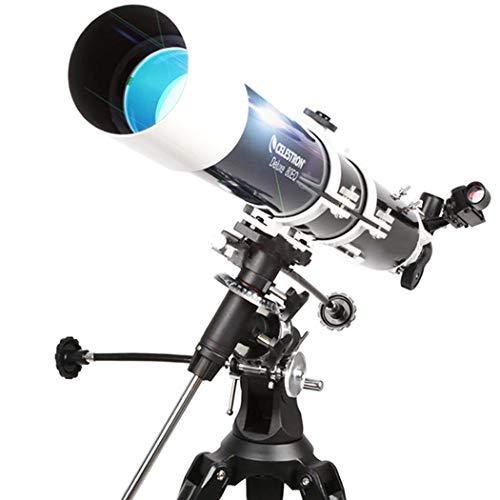 GGPUS Distancia Focal 900Mm, telescopio, Alcance de Viaje, telescopio astronómico de Caracteres con trípode y buscador, telescopio portátil para niños Principiantes, 131 Veces