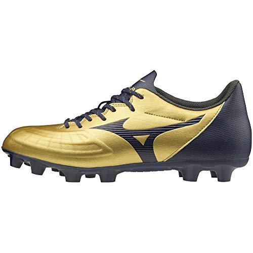 [ミズノ] サッカースパイク レビュラ 3 SELECT+ ゴールド×ネイビー 25 cm 3E