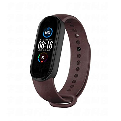 ZGNB Banda 5 Hombres Y Deportes De Mujer Pulsera Deportiva Tasa De Corazón Tracker Bluetooth 1.1 Pulgadas Pantalla Inteligente Pulsera Impermeable Reloj Inteligente,Z