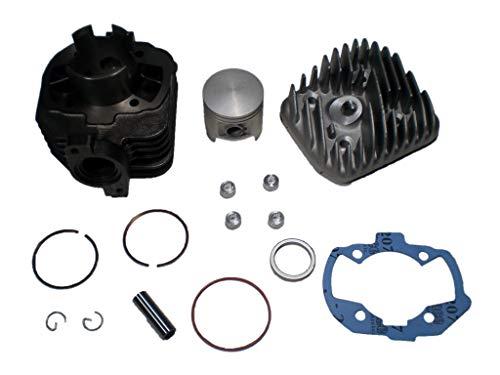 Zylinder Peugeot 70 ccm, AC, DS Racing, liegender Zylinder mit Kopf, 2008-, Citystar, Django, Kisbee, Ludix, Speedfight 3,4, Vivacity 3