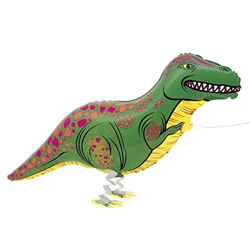 Folien-Luftballon Laufendes Haustier T-Rex - 89 cm
