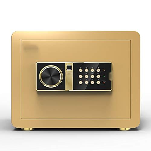 YWSZJ Completamente de Acero Antirrobo Seguridad, la contraseña de Huellas Digitales de Seguridad, electrónica de Huellas Dactilares Bloqueo a Prueba de Fuego Fuego Digital Home Box Combinación