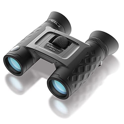 Steiner BluHorizons 10x26 Binoculares - tecnología de lentes única, protección ocular, compactos y ligeros, ideales para vacaciones en países soleados, actividades al aire libre y deportes