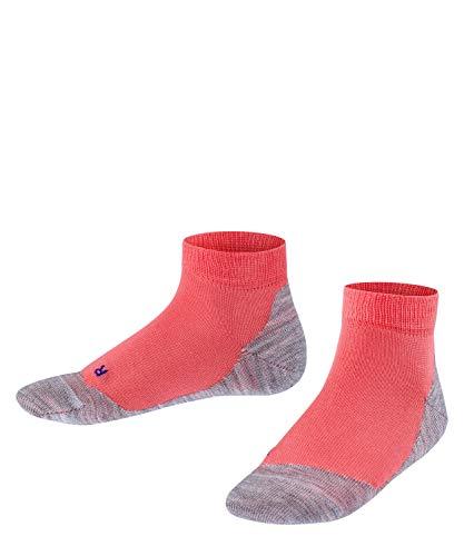FALKE Unisex Kinder Active Sunny Days K SN Socken, Rot (Coral 8884), 31-34 (7-9 Jahre)