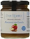Mermeladas Don Ramiro - Mermelada Artesana Casera de Manzana con Canela - Elaborada sin Conservantes, ni Colorantes - Apta para Personas Alérgicas al Gluten - 250 gr