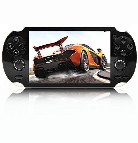 Handheld Portable Game Console, Media Player with Camera Retro Games with 32G TF Card Built in 1000 Real Video Games,5.1''1000 LCD Screen for gba/gbc/SFC/fc/SMD Games, Best Gift for Kids and Adults