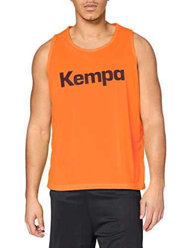 Kempa Chemise de Marquage-200315001 Reversible Training Bib Homme, Orange/Vert, M/L
