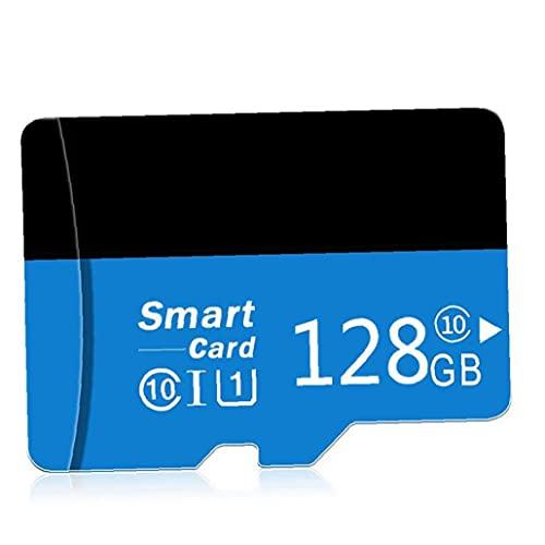 Tuimiyisou Micro SD Card con Adpter Alta Velocidad TF Tarjeta de Memoria para teléfonos Cámaras diseño del Jugador de MP3 de 128 GB humanizado