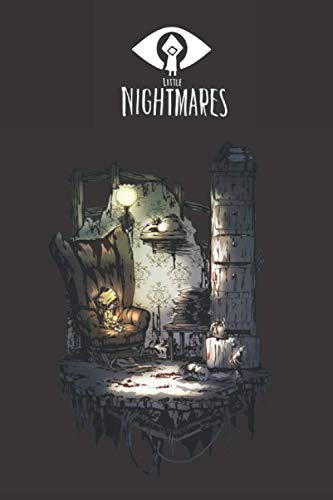 Little nightmares 2: Notebook Journal for gamers , kids and all adults for school , university or dairy Notebook ( 110 lined Pages 5 × 8 ) 2021 (Little Nightmares 2 Notebook Series)