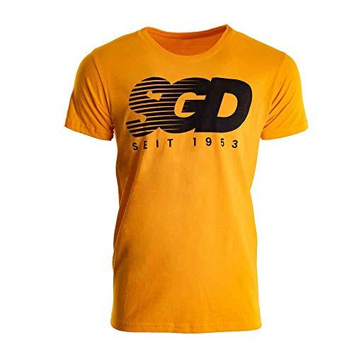 SG Dynamo Dresden T-Shirt SGD seit 1953 gelb, Größe:XXL
