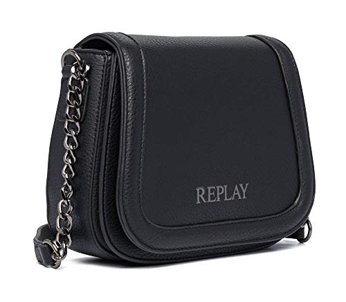 REPLAY, FW3004.000.A0132D Donna, 98 nero, UNIC