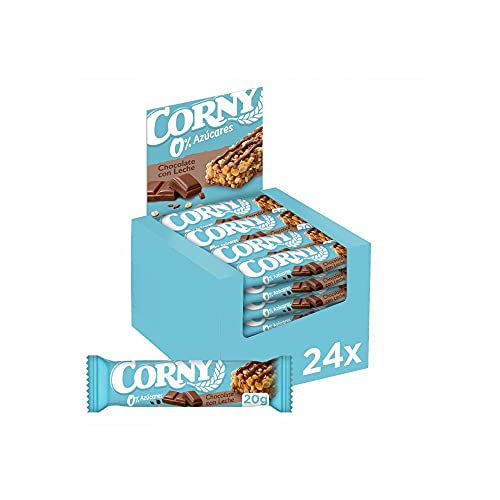 Corny 0% Chocolate con Leche - Pack 24 barritas x 20g