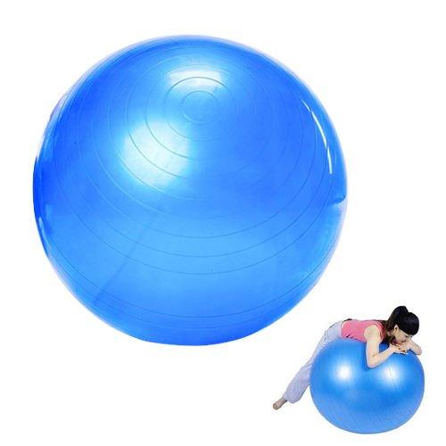Ideal Palla Svedese Svizzera da Ginnastica - Fit Ball -FITBALL da Fitness Aerobica Yoga E Palestra – 75CM – Idea Regalo per Compleanno