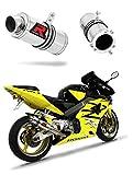 CBR 954 RR Fireblade Escape Moto Deportivo GP I Silenciador Dominator Exhaust Racing Bolt-on 2002 2003