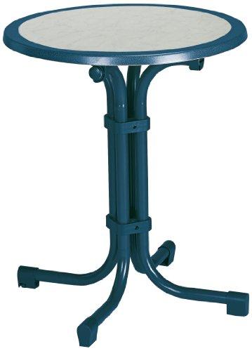BEST 26536020 Tisch Boulevard rund, Durchmesser 60 cm, blau