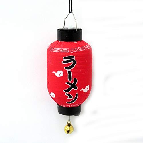 光るミニ提灯(吸盤付) 長型 ラーメン 303-305