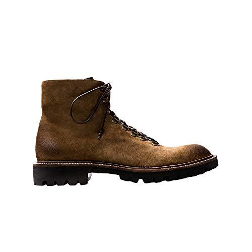 Monterey by Pete Sorensen Suede Boots with Round Toe Summer Collection Men