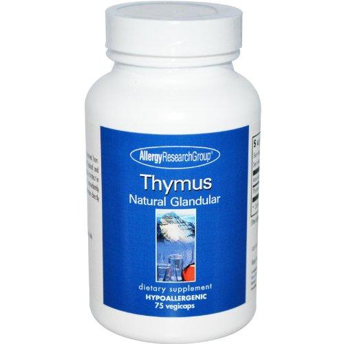 Thymus Natural Glandular 500 Milligrams 75 Capsules