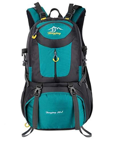 KuanDar Hiking Backpack 50L Sac à Dos Randonnée, Grande Capacité Sac à Dos De Voyage étanche pour Trekking Alpinisme Camping en Plein Air, Sac Unisexe pour