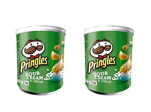 Patatas fritas de patata (crema agria y sabor a cebolla), 70 g - Pack de 2
