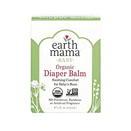 Earth Mama Organic Diaper Balm Calendula Cream, 2-Fluid Ounce