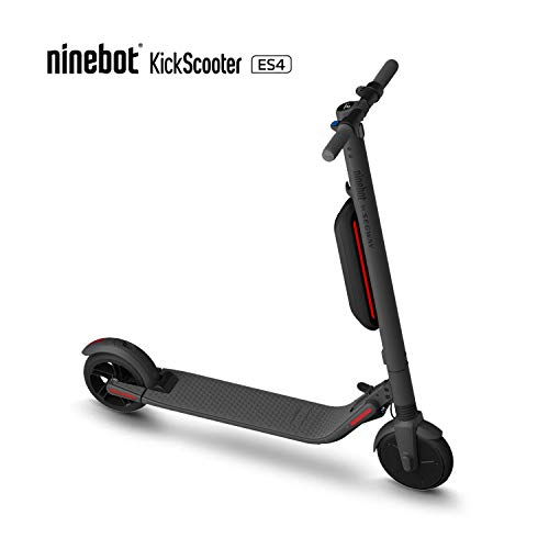 Segway Ninebot ES4 Folding Electric Kick Scooter with Second Battery, Dark Grey...