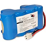 ZZcell Battery for Euro Pro Shark Vacuum Carpet and Carpet Sweeper XB1918,...