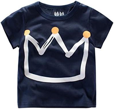 Logobeing Ropa Bebe Verano 2-7 Años Niño Camiseta de Dibujos Animados