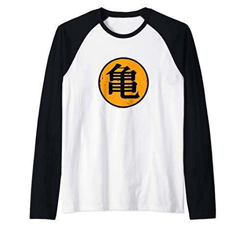 Roshis Gym Dragon Kame Friki Camiseta Manga Raglan