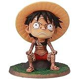 BeeUgy One Piece Action Figure Monkey D Luffy & Trafalgar Law 20th Anniversary Edition One Piece Anime Toy Model Figura de acción Mejor Regalo para niños