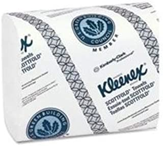 Kimberly-Clark Professional Kleenex Scottfold Paper Towels, White, 120/Pack, 20