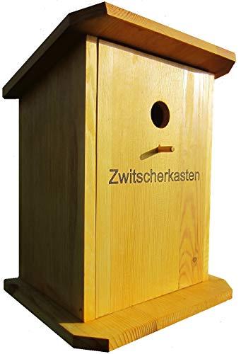 HÜWÜKNÜ Vogelhaus,Nistkasten, Vogelhäuschen ` Papas Schnaps Bar, Zwitscherkasten` Gross