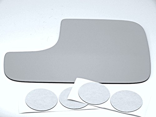 Aftermarket Mirrors Fits 98-08 Ram Left Driver Flip Up Tow Mirror Glass Lens Replacement w/Adhesive USA