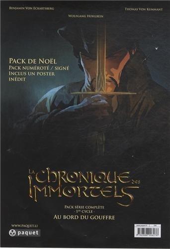 La chronique des immortels : Au bord du gouffre : Pack 3 volumes