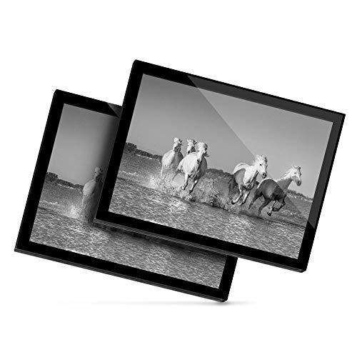 Destination 38969 - Mantel individual de vinilo, 20 x 25 cm, color blanco
