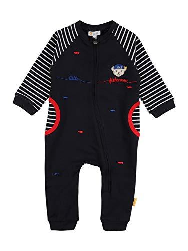 Steiff Baby-Jungen Strampler Nachthemd, Navy, 056