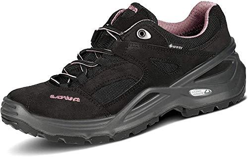 mächtig Lowa Sirkos GTX W Damen Trekking- und Wanderschuhe Schwarz (Schwarz / Pink 9904) 41 EU