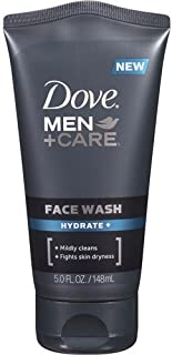 Dove Men + Care Face Wash, Hydrate, 5 Oz (Pack of 3)