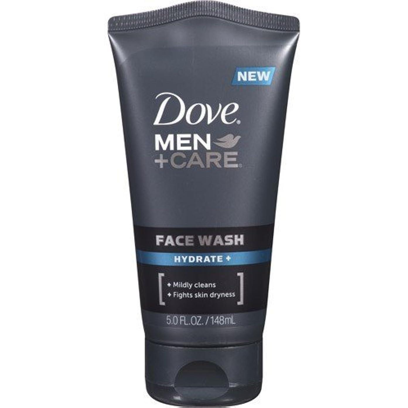 汚染する貼り直す閉塞Dove Men + Care Face Wash, Hydrate, 5 Oz by Dove