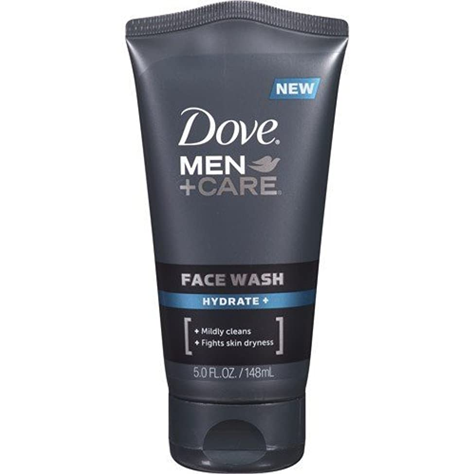 対免除穴Dove Men + Care Face Wash, Hydrate, 5 Oz by Dove