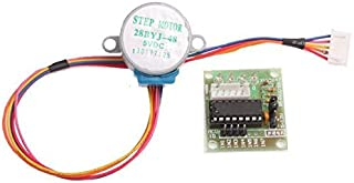 Exiron 2pcs DC 5V Stepper Motor + ULN2003 Driver Test Module Board 28BYJ-48 for Arduino