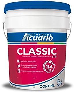 Pintura Vinílica Classic Acuario 19 Litros (Blanco)
